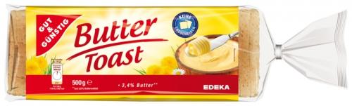 Buttertoast, Dezember 2017