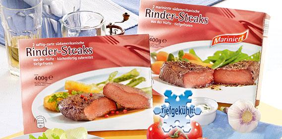 Rinder-Steaks, 2er, Dezember 2010