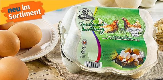 Eier aus Freilandhaltung, Dezember 2010