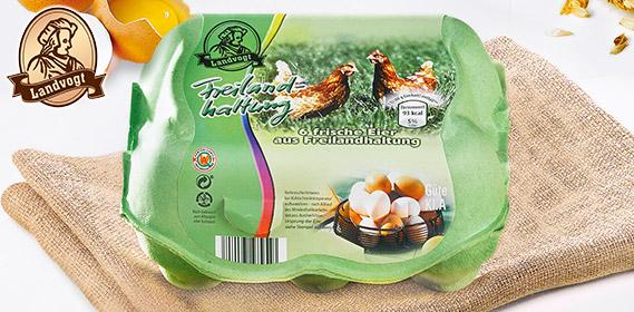 Eier aus Freilandhaltung, Februar 2011