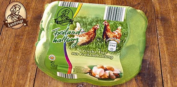 Eier aus Freilandhaltung, Oktober 2012