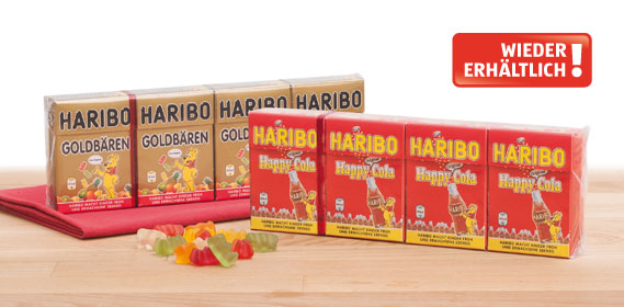 Haribo Minis, Goldbären , April 2013