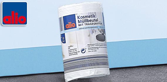 Kosmetik-Müllbeutel, 10 L, Juni 2012