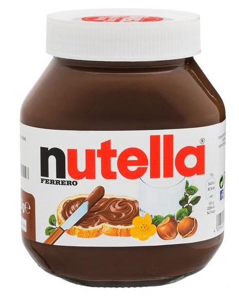 Nutella, Oktober 2017