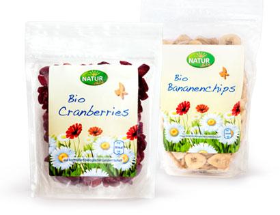 Bio-Cranberries, getrocknet, Februar 2014