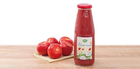 Passierte Bio-Tomaten, September 2013