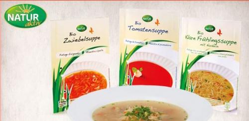 Bio-Suppe im Beutel, Dezember 2013