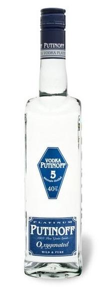 Vodka Putinoff Platinum 40 Vol.-%, Juni 2017