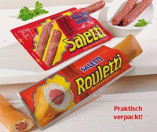 Salami-Snacks, November 2007