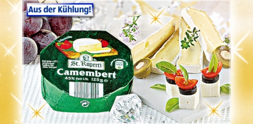 Camembert, Dezember 2008