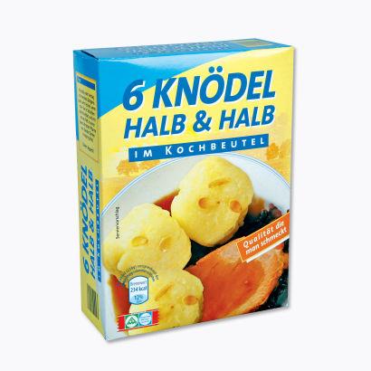 6 Knödel Halb und Halb, M�rz 2012