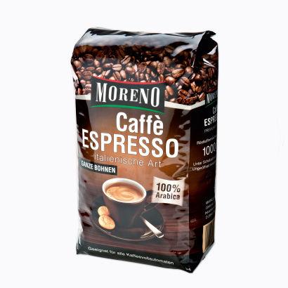 Caffè Espresso, ganze Bohnen, Dezember 2012