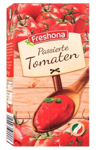 Passierte Tomaten, Juni 2017
