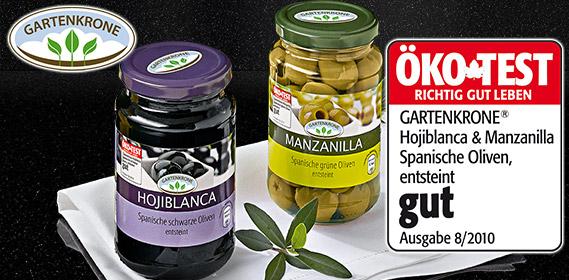 Spanische Oliven, Januar 2011