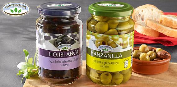 Spanische Oliven, Mai 2012