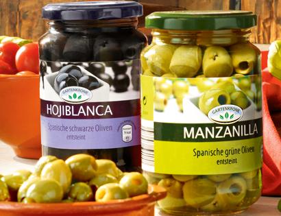 Spanische Oliven, Mai 2013