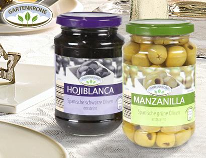 Spanische Oliven, Dezember 2013