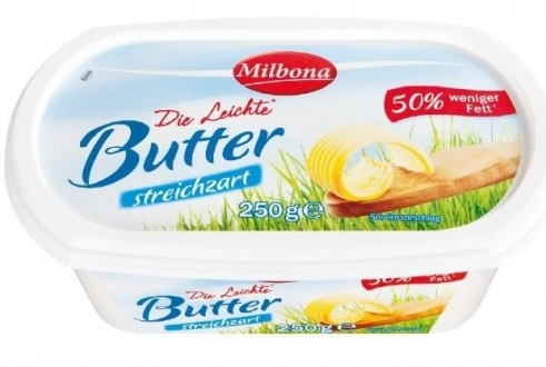 Halbfettbutter Light, September 2017