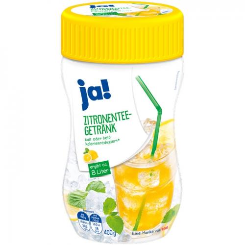 Zitronentee-Getränk, Januar 2018