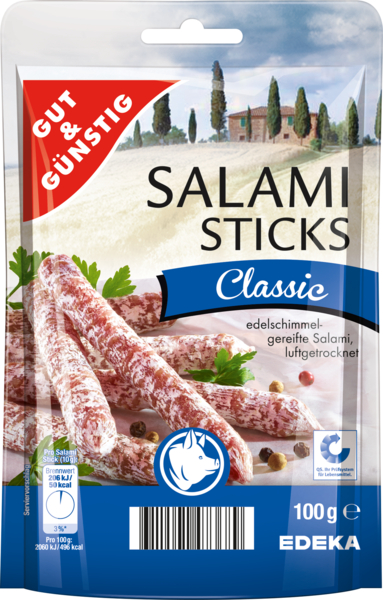 Salami Sticks classic, Dezember 2017