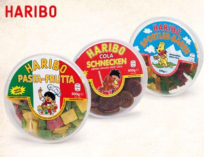 Haribo Pasta-Frutta, 500 g Dose, Januar 2014