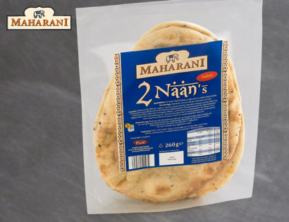 Naan Brot, April 2014