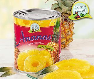 Ananas, Scheiben, Oktober 2007