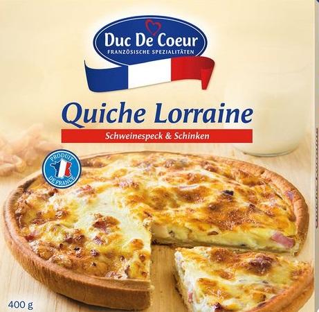 Quiche Lorraine, September 2017