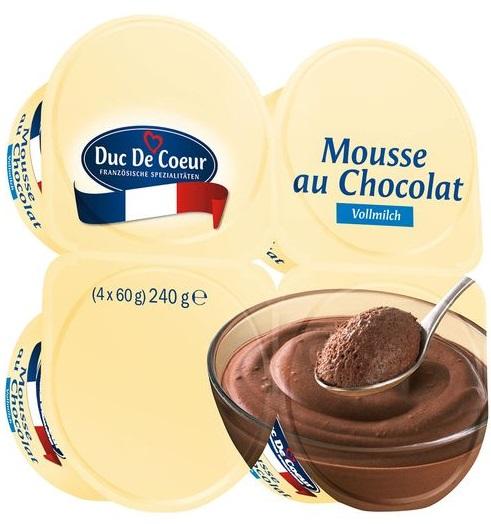 Mousse au Chocolat Vollmilch, September 2017