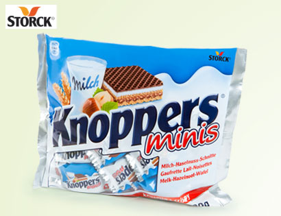 Knoppers Minis, M�rz 2014
