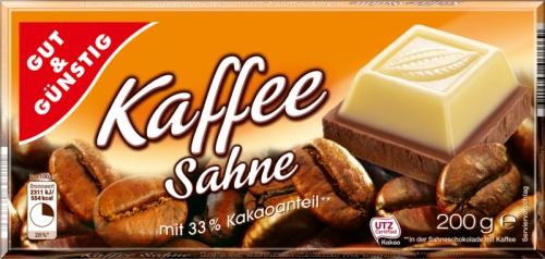 Schokolade Kaffeesahne, Januar 2018