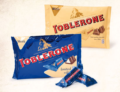 Toblerone Minis, Januar 2014
