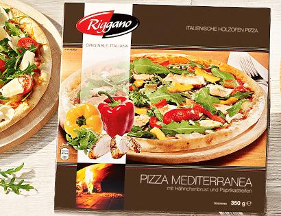 Italienische Holzofen Pizza, Januar 2014