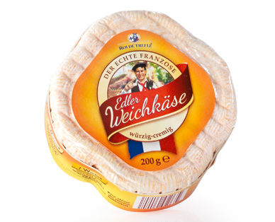 Edler Weichkäse, April 2015