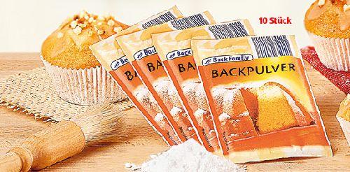 Backpulver, 10x 15 g, Oktober 2007