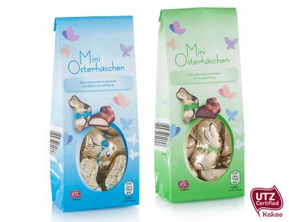 Mini-Osterhäschen, gefüllt, M�rz 2014