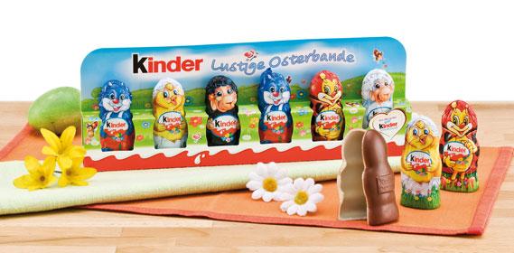Kinder Lustige Osterbande, Februar 2012