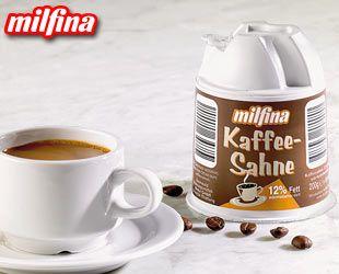 Kaffeesahne, im Kännchen, 12% Fett, Oktober 2007