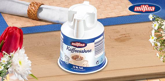 Kaffeesahne, im Kännchen, 12% Fett, M�rz 2011