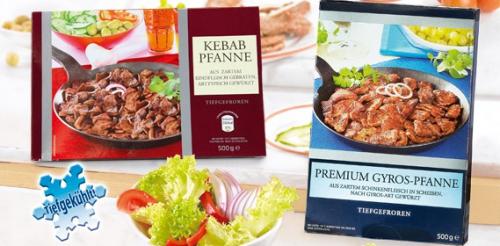 Gyros- oder Kebab-Pfanne, Februar 2013