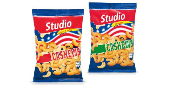 Cashews geröstet, Januar 2014