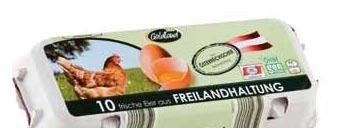Freiland-Eier, September 2012