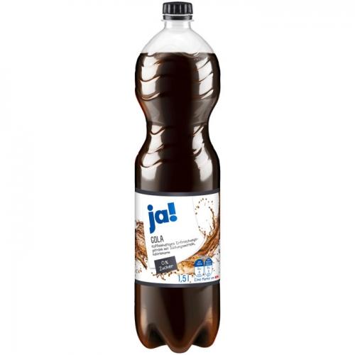 Cola ohne Zucker 1,5l, Oktober 2017