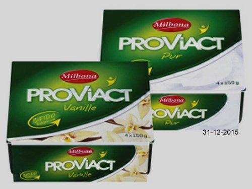 Proviact Joghurt, Dezember 2015