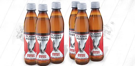 Energy Drink, Flying Power, 6x 0,33 L (PET), Januar 2012
