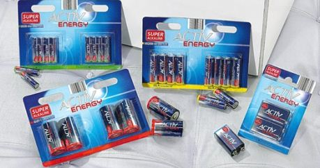 Batterien, 1,5 V, Micro, AAA,  LR03, April 2011