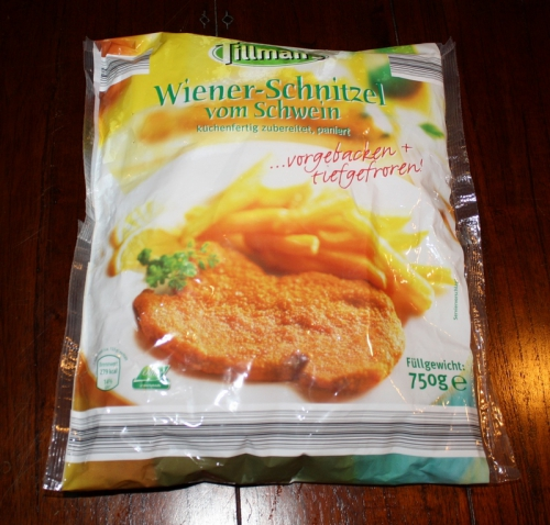 Schnitzel Wiener Art, Dezember 2012
