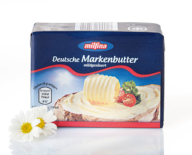 Deutsche Markenbutter, September 2014