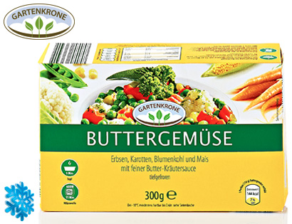 Buttergemüse, Dezember 2013