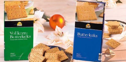 Butterkeks, 2x 200 g, November 2007